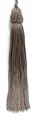"""Beige 5.5"""" Chainette Tassels Taupe [Set of 10]"""