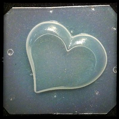 "Flexible Mold /""I Heart My Chihuahua/"" Dog Resin Or Chocolate Mould"