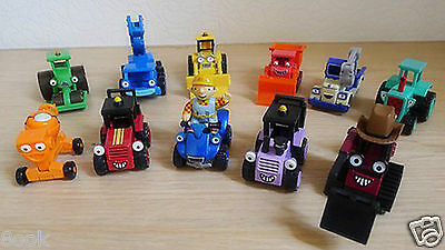 Lot Of 11pcs Mattel Learning Curve Bob the Builder Diecast Toy Cars Loose