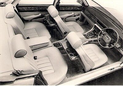 Daimler 3.6 XJ40 Interior 1986-89 Original Press Photograph