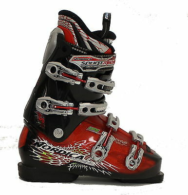 Used Nordica Sport Machine Black Red Ski Boots Men's Size