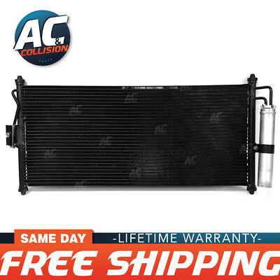 CON403 AC Condenser for Nissan Sentra 1.8 2.5 L4 2002 2006 with Dryer included