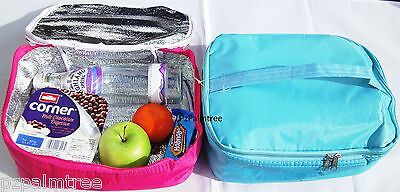 Childrens Insulated Carry Lunch Bag Sandwich Food School Beach Cool Boy Girl Kid