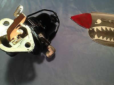 remanufactured fuel pump, antique aviation part. Very unusual A.C. Type pump