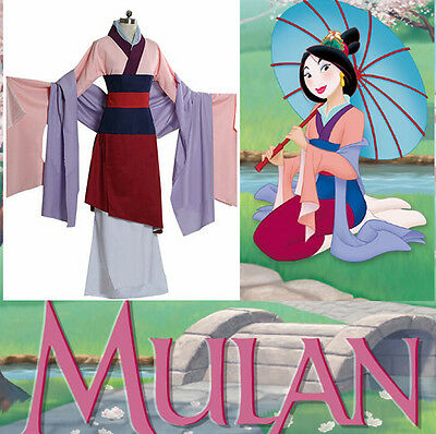 The Ultimate Mulan Hua Mulan Cosplay Costume Custom-made