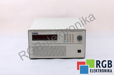 6420 15A 47-63Hz Programmable Ac Source Chroma Id10237