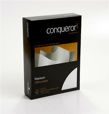 Conqueror A4 Premium Paper 100gsm Various Colours, Finishes And Quantities