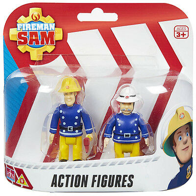 Offical Fireman Sam Action Rescue 2 Action Figure Pack
