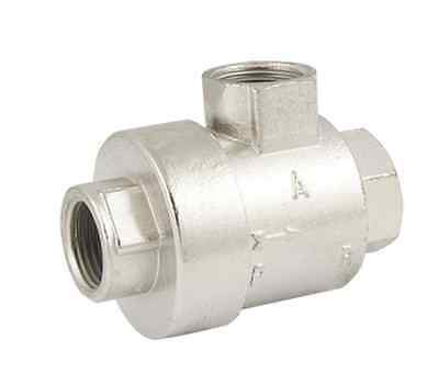"Pneumatic 2 Way 3/4"" Outlet Air Quick Exhaust Valve Generator BQE-04"