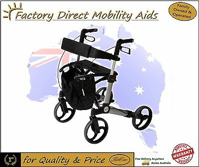 "Alpha 419 Walker / Rollator 9"" Wheels Great new product Mobility aid New Item"