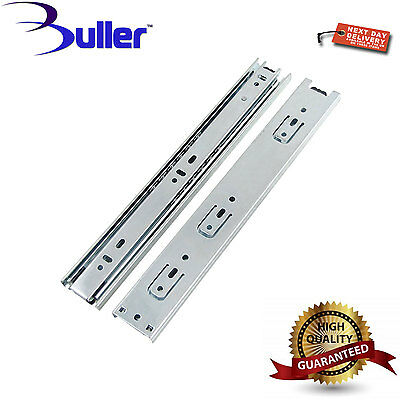 Full Extension 45mm Ball Bearing Drawer Runners/Slides 250mm-700mm Trade Price