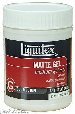 Liquitex Professional Medium Matte Gel 237ml Artist Paints Quality Acrylic Art