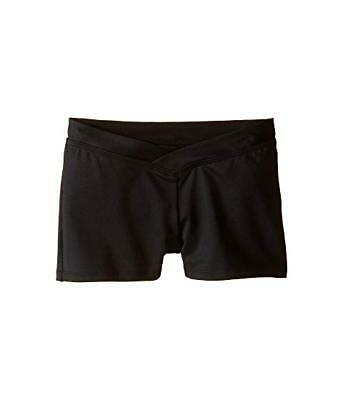 Women's Black Bloch Dancewear Noa V-Cut front Dance Shorts - size XS - XL