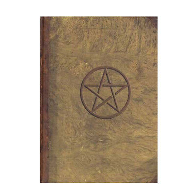 Pentagram Hardcover 8x6 Wicca Pagan Blank Notebook Book of Shadows Journal Diary