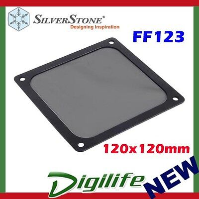 Silverstone FF123B 120mm Ultra Fine Magnetic Fan Dust Filter 120x120mm square