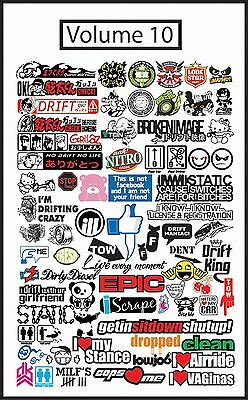 (Volume 10) Jdm Vector .eps Files Graphic Sign Making Vinyl Cutting