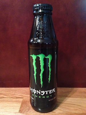 Monster Energy Glass Bottle 16.9 oz Discontinued Limited Edition Unopened