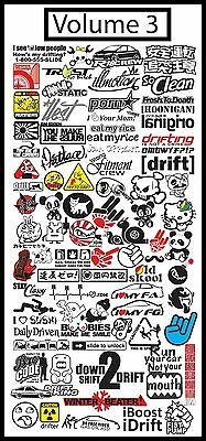 (Volume 3) Jdm Vector .eps Files Graphic Sign Making Vinyl Cutting