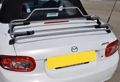Stainless Steel Car Luggage Rack - Fits Most Boot Lids