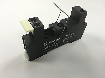 1 x 95.83.30-BLK Finder Relay Base Socket 1 Pole C/O Suitable 40 Series Relay
