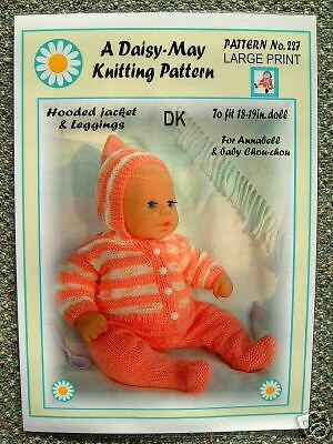 1 DOLLS KNITTING pattern by Daisy-May for Baby Born No 294 16 to 18 ...