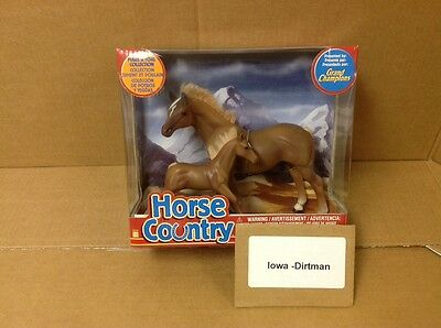 Grand Champions Horse Country Brown Mare & Foal Collection 55030