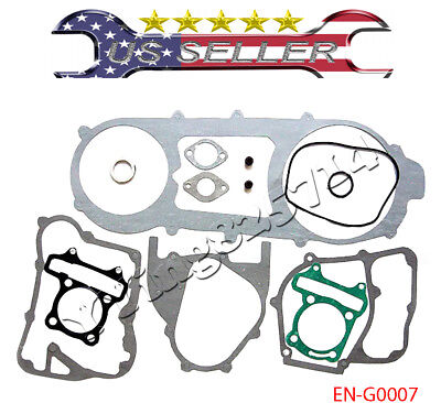 Long Case Complete Gasket Set for GY6 150cc Scooter Moped Go Kart ATV Quad