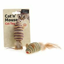 PET-561970 Ruff 'N' Tumble Cat 'N' Mouse  (7.6cm)
