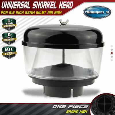 Snorkel Head Pre Cleaner Intake for 3.5 inch 88mm Inlet Air Ram Offroad 4WD 4X4