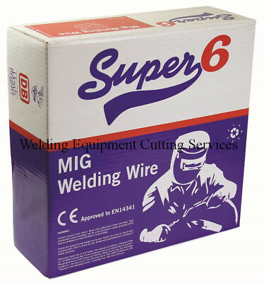 Mild Steel Mig Wire Spool Reel 1.0mm Welding Gas Mix 5kg 5 Kilograms