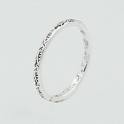 Midi silver ring knuckle ring 925 sterling fish design 3us 3.5us 4us 4.5us 5us