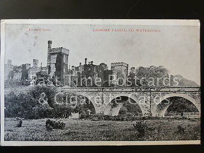 Ireland COUNTY WATERFORD Lismore Castle c1905 by Irish Pictorial Postcards