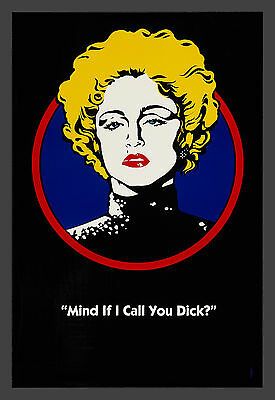 MADONNA CineMasterpieces MIND IF I CALL YOU DICK TRACY DS ORIGINAL MOVIE POSTER