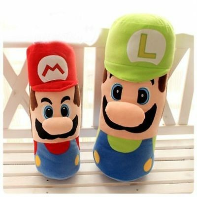 New Toys Doll Cushion/ Long Stuffed Soft Pillow Gifts Super Mario Brothers Plush