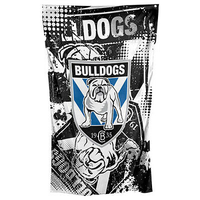 CANTERBURY BULLDOGS Licensed NRL Cape Wall Flag Banner Man Cave Christmas Gift