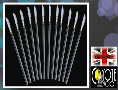 Disposable Lip Brush Gloss Wands Applicator Lipstick Makeup Tool Cosmetic 25 UK