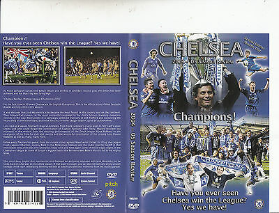 Chelsea Football Club-Chelsea:2004 Season Review:Champions-Soccar Chelsea-2 DVD
