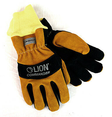 NEW Lion Protective Commander Series Gloves - Firefighting Glove, NFPA  Large