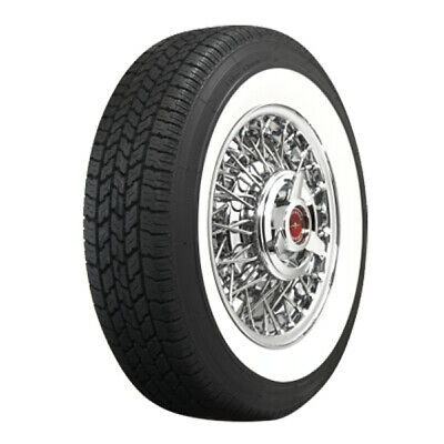 """COKER Classic Wide Whitewall Radial 225/75R15 (2 3/4"""" Whitewall) (Quantity of 1)"""