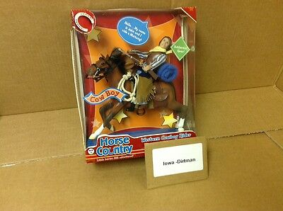 Grand Champions Horse Country Western Cowboy Rider 50216 New