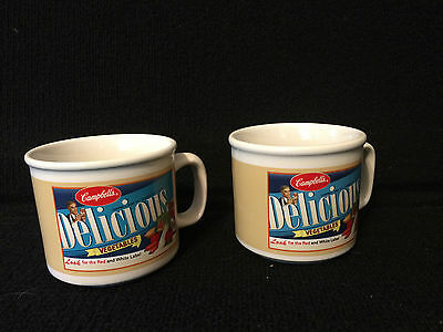 Campbell's Handled Soup Mugs Houston Harvest 2005 12 oz.