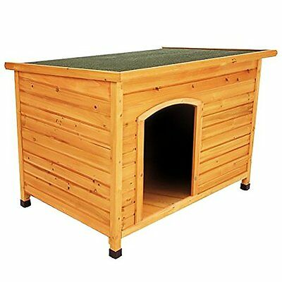 NEW Wooden Outdoor L/XL Large Dog Kennel Pet House Animal Shelter