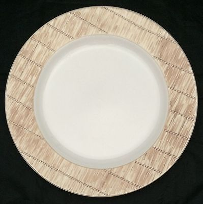 """Guess Home Collection Tatami Stoneware 12"""" Round Chop Plate Platter"""