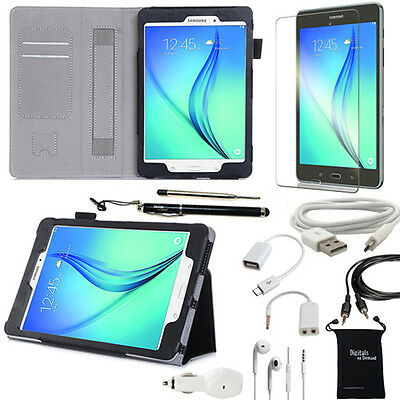 "10-Item Accessory Bundle for Samsung Galaxy Tab A 9.7 "" Inch - Case and Chargers"