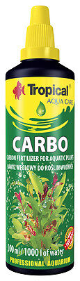 Aquarium PLANT Liquid CARBON Fertiliser For Tropical Aquatic, Aquarium  Plants