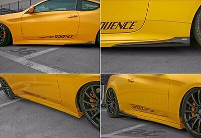 SEQUENCE SPEC-1 Side Lip (sideskirts) for Hyundai Genesis Coupe 09-12
