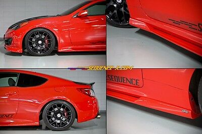 SEQUENCE SPEC-RS Side Lip (sideskirts) for Hyundai Genesis Coupe