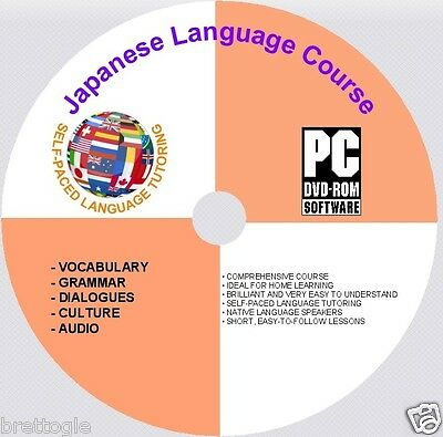 LEARN Japanese LANGUAGE COURSE Japanese COURSE ON DVD