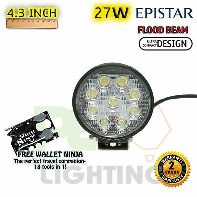 PEC 27W EPISTAR LED FLOOD WORK LIGHT + MOUNTING For  MINI COUNTRYMAN