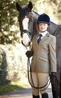 Dublin Wolverton Childs Tweed Horse Riding Jacket Blazer ALL SIZES